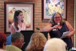 Board Members, Angela Harvey and Mercedes Luna-Rivero hosted this month's chapter meeting